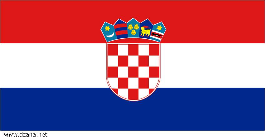 drapeau rouge et blanc et bleu