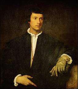 Qui a peint 'L'Homme au gant' ?