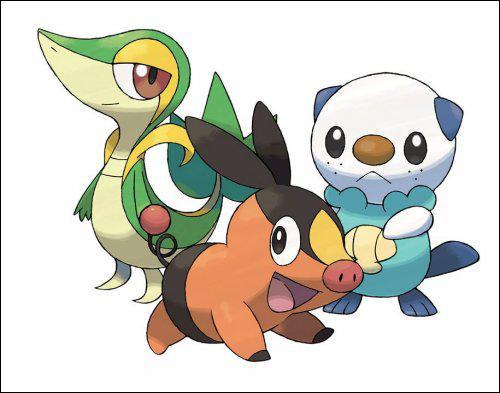 Comment s'appellent les Pokémon de départ ?