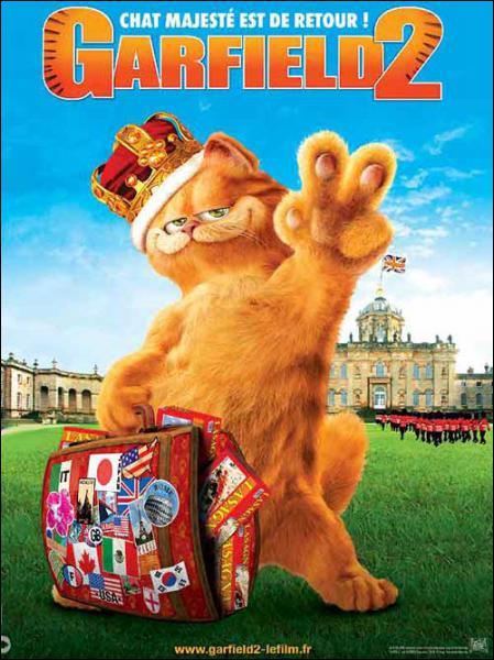 Où se trouve Garfield dans Garfield 2