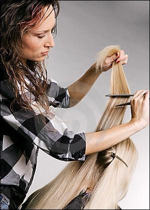 Pour me faire soigner les cheveux, je vais chez :
