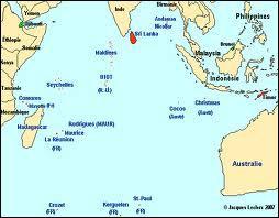 Où se situe l'île Catherine, petite île inhabitée de l'archipel des Mascareignes ?