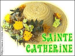 Complètez ce proverbe : 'A la Sainte Catherine'... .