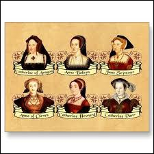 Lequel de ces rois a compté trois Catherine parmi ses six épouses, dont Catherine d'Aragon ?