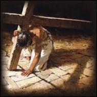 Jésus est d'abord flagellé puis est obligé de porter lui même la croix jusqu'à son lieu d'exécution. De combien de  stations  le chemin de croix de Jésus se compose-t-il ?