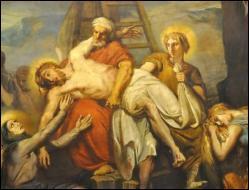 Quel est le nom du disciple qui a descendu le corps de Jésus-Christ de la croix et a demandé l'autorisation d'emporter son corps ?
