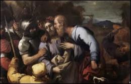 Jésus a été dénoncé par un de ses disciples qui le désigne aux gardes en l'embrassant. Quel est le nom de ce traître qui a vendu Jésus aux grands prêtres de Jérusalem contre trente pièces d'argent ?