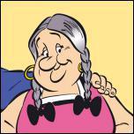 C'est la maman d'Obélix :