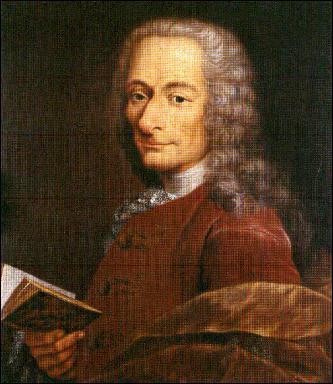 Né1694 en , on lui doit 'Candide ' , il s' agit de ...