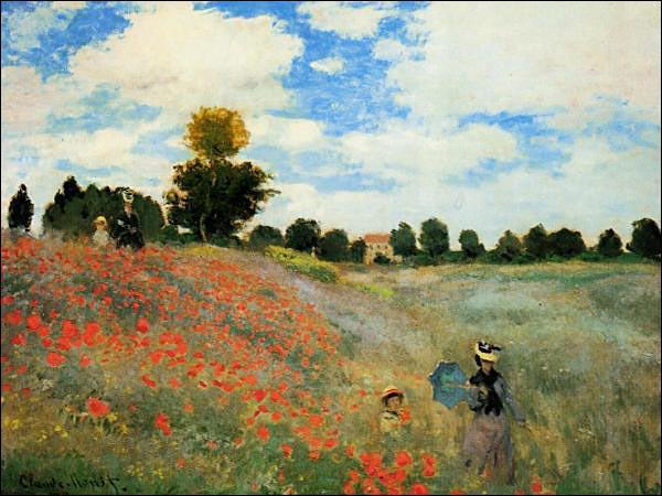 Qui a peint ce tableau paysagiste en 1873 ?