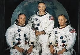 Le 2O juillet 1969, ils font partie de l'équipage d'Apollo 11 à destination de la Lune. Qui sont-ils ?