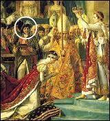 Sur le tableau est représenté un maréchal d'empire, tenant le coussin sur lequel était posée la couronne. C'est le beau-frère de Napoléon et futur roi de Naples. Quel est son nom ?