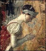 Quel est le nom de l'impératrice représentée sur le tableau ?