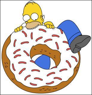 Que mange Homer ?