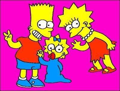 Qui sont les enfants de Marge et Homer ?