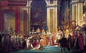 Le dé tombe sur 2... Histoire : Qui a couronné Napoléon empereur des Français ?