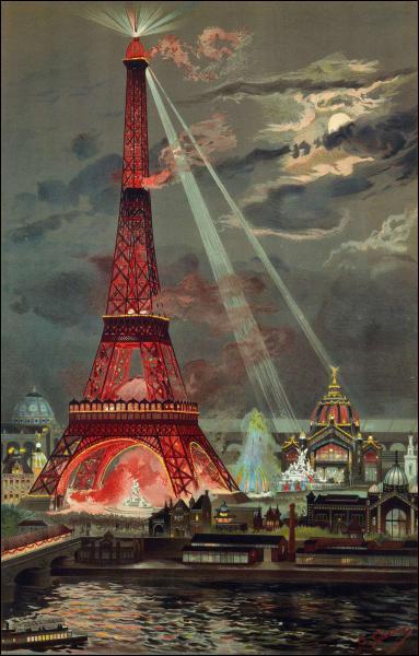 En quelle année la Tour Eiffel a-t-elle été inaugurée ?