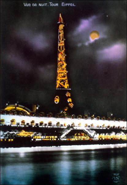 En 1925, quelle marque automobile fait de la publicité grâce à la Tour Eiffel ?