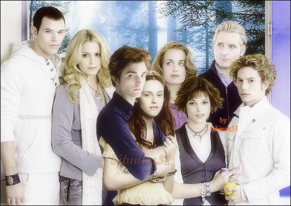 Combien il y a-t-il de couples Cullens (avec Bella ) ?