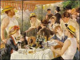 Qui a peint Le déjeuner des canotiers ?