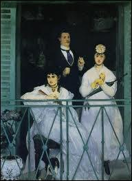 Qui a peint Le balcon ?