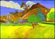 Qui a peint Paysage tahïtien ?