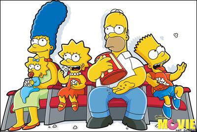 De quelle couleur est la peau des Simpson ?