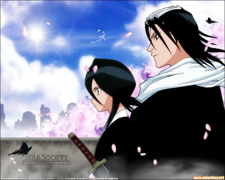 Qui est Byakuya pour Rukia (liens de sang) ?