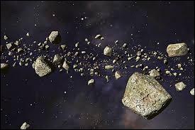 ''Dis donc mon papounet... La ceinture d'astéroïdes, tu sais où ça se trouve ? ''