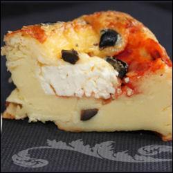 La feta est un fromage grec préparé avec du lait de...