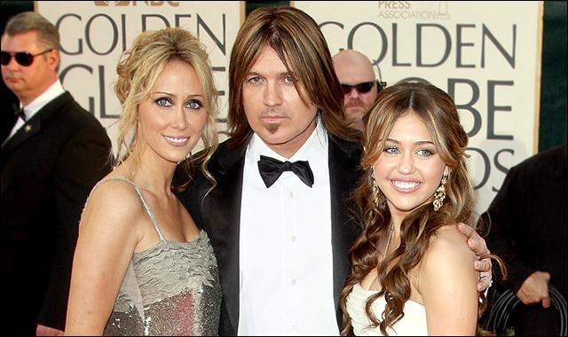 Comment s'appellent les parents de Miley ?