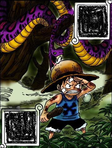 Combien de temps Luffy pourchasse-t-il Ace dans la forêt ?