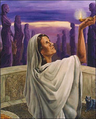 Quels sont les objets du culte d'Hestia ?