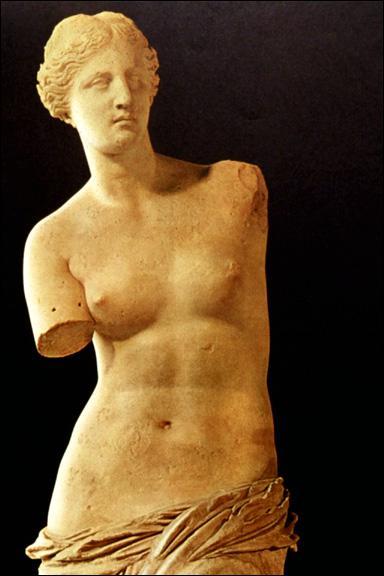 Pourquoi la Vénus de Milo, statue grecque conservée au Louvre, est-elle appelée ainsi ?