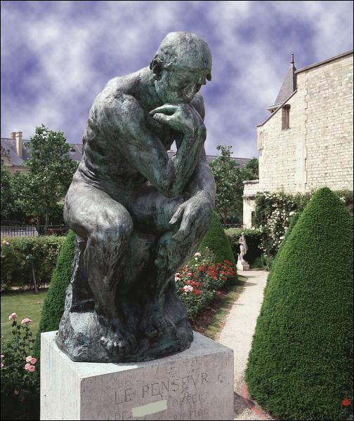 Qui a sculpté le célèbre 'Penseur' ?