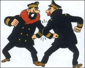 Deux marins pour un pas de danse, qui danse avec Haddock ?