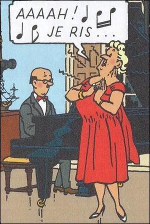 Pianiste qui lui ne rit pas , il s'agit de ... .