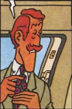 Cet rouquin est le secretaire du milliardaire Carreidas, il s'agit de ... .