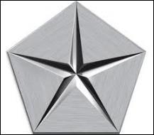 Le pentastar (étoile à 5 branches) est le logo de quelle marque de voiture américaine ?