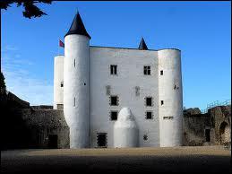 Où ce château est-il construit ?