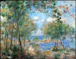 Quel peintre a séjourné à Pornic et s'est inspiré du Bois de la Chaize pour ce tableau ?