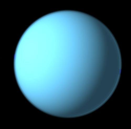 Quelle planète du système solaire, qui tire son nom du dieu grec personnifiant le Ciel, est la septième en partant du Soleil ?