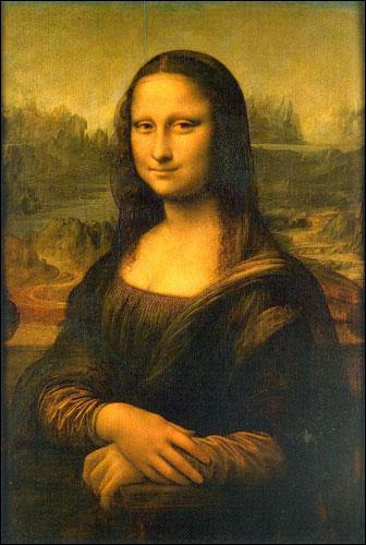 Je suis un génie universel : peintre, architecte, inventeur, ingénieur, savant, etc... , j'ai peint la Joconde, je suis...