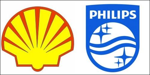 Quelle est la nationalité des firmes Shell et Philips ?
