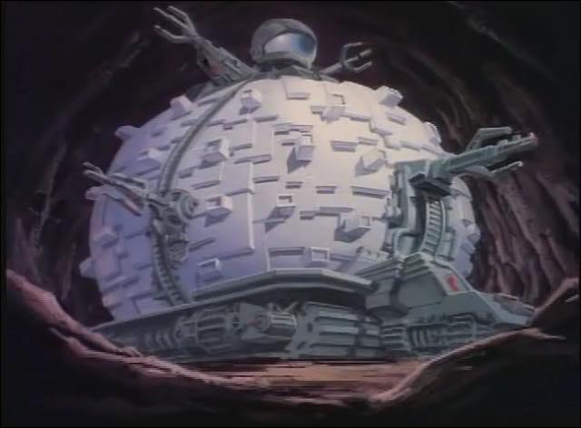 Le Technodrome sert de véhicule et de QG au(x) 'méchant(s)' dans le dessin animé