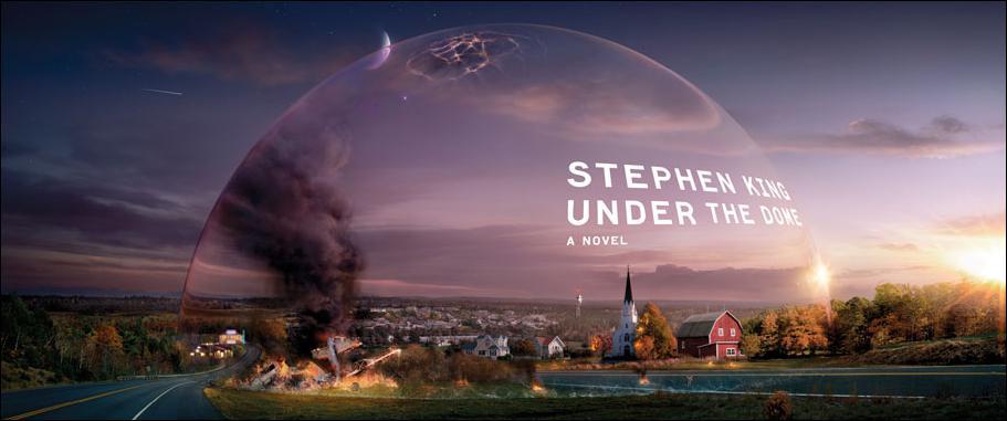 Même si elle est antérieure, l'idée du roman Dôme de Stephen King ressemble à celle de l'adaptation en long métrage...