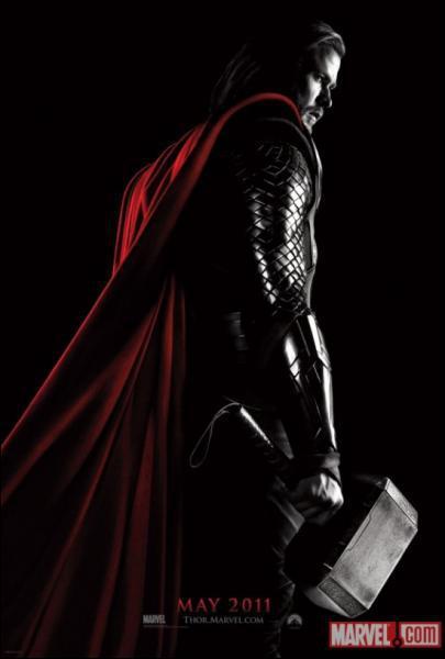 De quelle couleur est la source d'énergie détenue par les Asgardiens dans Thor ?