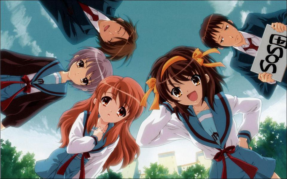 Quelle est la particularité de l'anime La Mélancolie de Haruhi Suzumiya ?