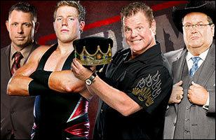 Michael Cole & Jack Swagger vs Jerry 'The King' Lawler & Jim Ross : qui sont les vainqueurs ? (Country Whipping Match)