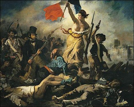 Retrouvez le titre de ce tableau romantique et le nom de l'artiste :